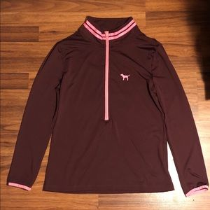 PINK Ultimate Half Zip Size Large